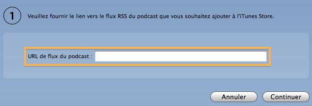 Comment soumettre son podcast dans itunes 6